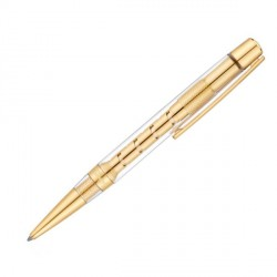 Stylo bille Défi transparent gold ST Dupont