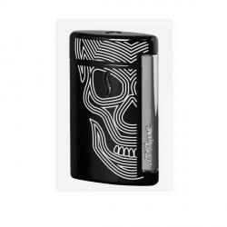 Briquet minijet St Dupont Skulls noir