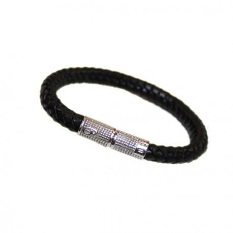 Bracelet Homme cuir tresse Bagnara