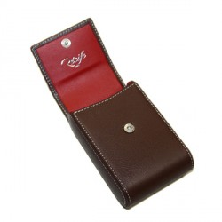 Etui pour paquet de cigarettes Chesterfield Culture chocolat