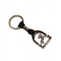 Porte clés Bagnara étrier Horse shoe