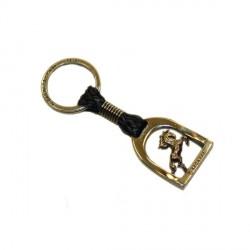 Porte clés Bagnara étrier Horse shoe Bronze