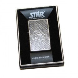 Briquet essence Star As de Pique