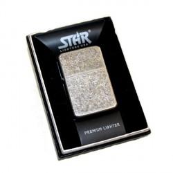 Briquet Star silver