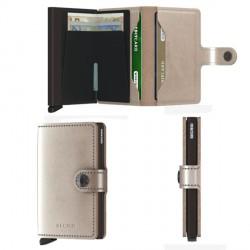 Porte cartes Miniwallet Secrid Metallic