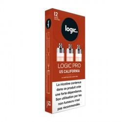 Cartouche e-liquide Logic Pro US California