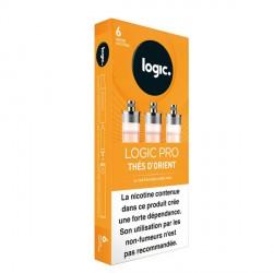 Cartouche e-liquide Logic Pro Thés d'orient