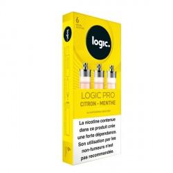 Cartouche e-liquide Logic Pro Citron menthe