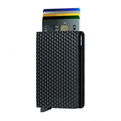 Porte cartes Slimwallet Secrid Cubic Black