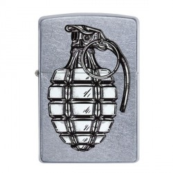Zippo Grenade Design