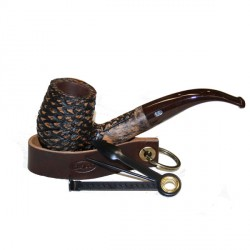 Porte-pipe cuir