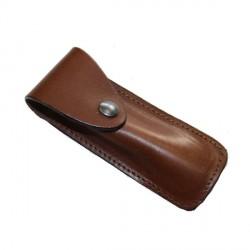 Etui couteaux cuir Yssingeaux 11cm