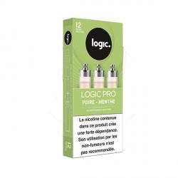 Cartouche e-liquide Logic Pro Poire Menthe