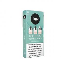 Cartouche e-liquide Logic Pro menthe glaciale