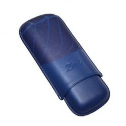 Etui cigares Zino Graphic Leaf blue
