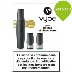 Cigarette Vype ePen 3 vPro noir