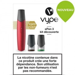 Cigarette Vype ePen 3 vPro rouge