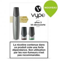 Kit découverte ePen 3 Vype vPro silver