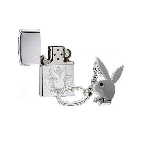 Zippo Playboy avec porte clefs