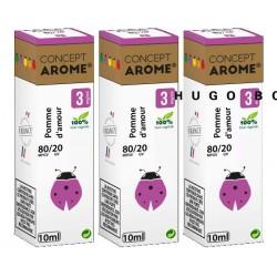 E-liqude Conceptarome Pomme d'Amour 30 ml
