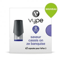 Capsule Vype Epen 3 Cassis On Ze Banquise