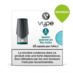 Capsule Vype Epen 3 Pomme On The Rock