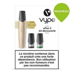 Cigarette Vype ePen 3 vPro Doré