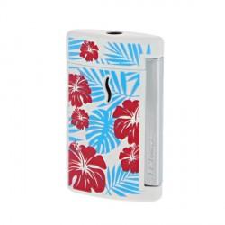 Briquet minijet St Dupont Hawai Blanc