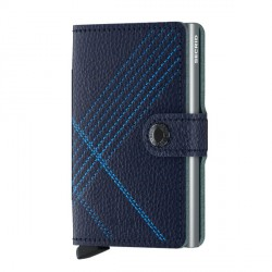 Porte cartes Miniwallet Secrid Stitch Navy