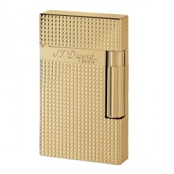 Briquet ST Dupont lpointes de diamants or